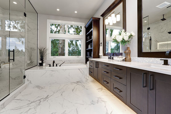 Santa Monica bathroom remodeling gallery